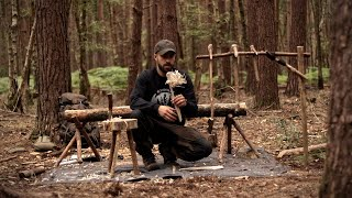 10 Bushcraft Camp Projects - Woodcraft, Axe, Knife, Hand Tools