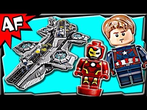 Vidéo LEGO Marvel Super Heroes 76042 : L'hélitransport du S.H.I.E.L.D.