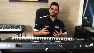 Alberto Teclados - Roland E A7 - Sérgio Moraes