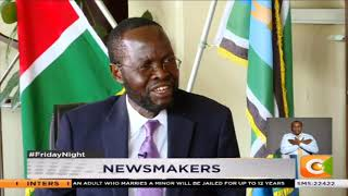 Newsmakers : Focus on Anyang' Nyong'o the Kisumu Governor