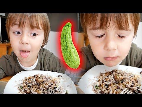 O MARCOS NÃO GOSTA DE ABOBRINHA!! Daily Vlog - Rotina em Familia