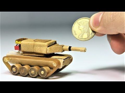 Make Your Very Own Mini Tank