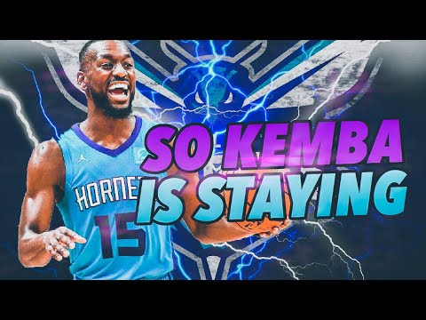 So Kemba Wants To Stay.. Charlotte Hornets Realistic Rebuild! NBA 2K19
