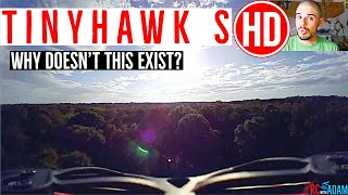 TinyHawk S HD Conversion - DIY HD FPV DVR Mod - Is there a HD Emax TinyHawk S? FPV Flight Footage