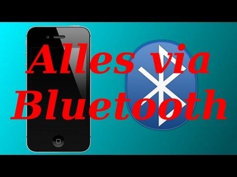 MUSIK/FOTOS/VIDEOS ÜBER BLUETOOTH VERSENDEN & EMPFANGEN! [AirBlue Sharing]