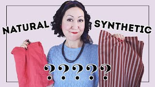 NO BURN! How to Tell if a Fabric is Natural or Synthetic Fibre?- Learn the skill to identify fabric!