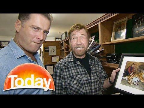 Karl meets Chuck Norris