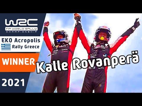総合優勝のロバンペラ特集 WRC 2021 ラリー・ギリシャ ハイライト動画