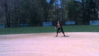 Ashley Abad Class Of 2013 Softball Skills Video Shortstop And Second Base