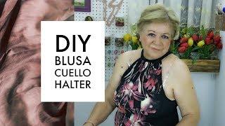 DIY :: BLUSA CUELLO HALTER