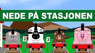 Nede på stasjonen - med animasjon!