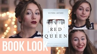 3 Makeup + Hair looks Inspired by Red Queen by Victoria Aveyard - Video Youtube