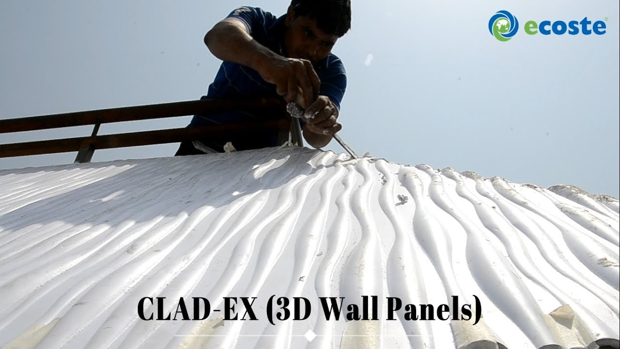 3D PVC Roofing Sheets - ECOSTE 3D Wall Panels | PVC Wall Panels