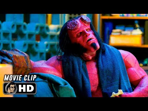 HELLBOY Clip - The Osiris Club (2019) David Harbour