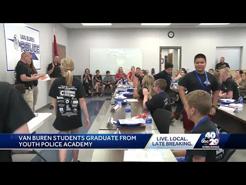 Van Buren students graduate from youth police academy