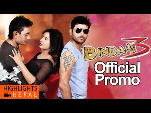 Download BINDAAS-3 | Hot Nepali Movie Official Promo 2016 | Shuvechchha Thapa, Asok Phuyal, Manish Karki HD Mp4 3GP Video and MP3