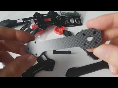 TransTEC Frog Lite 218mm Carbon Fiber 4mm Arm X Frame from Banggood