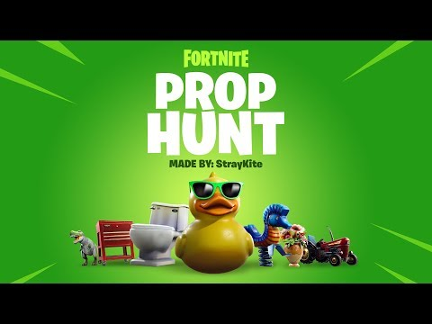 Fortnite Prop Hunt Code: How to play Prop Hunt in Fortnite