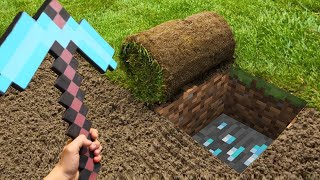 MINECRAFT IN REAL LIFE irl