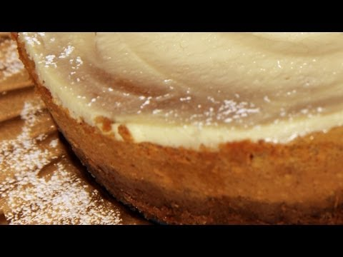 Pumpkin Cheesecake Recipe – Laura Vitale – Laura in the Kitchen Episode 245