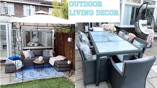 New Outdoor Living Space Decor Tour 2018