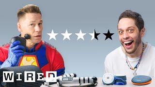John Cena & Pete Davidson Test Workout Gadgets | WIRED