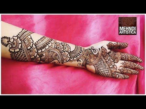 Full Hand Mehndi Designs Beautiful Bridal Arabic Henna Mehendi