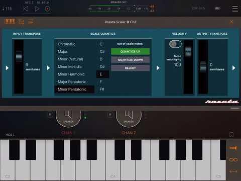 Rozeta Scaler (new Rozeta module) — Audiobus Forum