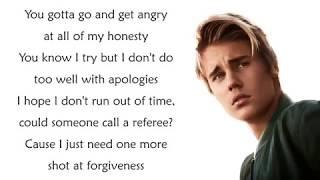 Justin Bieber - SORRY (Lirik)
