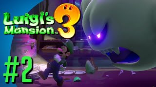 Luigi's Mansion 3 Part 2 - Meeting the Professor!