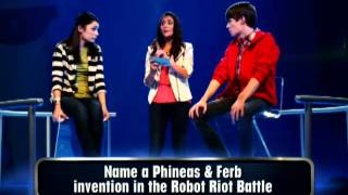 Sahar Yousefi: Phineas and Ferb: 60 Second Game Show Promo- Disney/7ate9
