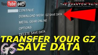 Ground Zeroes 1.04 Update! Transfer your Save Files to TPP!