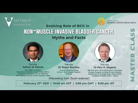 Evolving Role of BCG in Non-Muscle Invasive Bladder Cancer