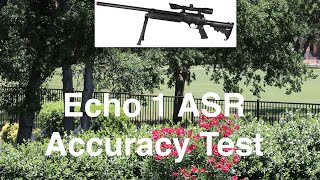 ECHO 1 ASR Advanced Sniper Rifle Accuracy Test - (Stock)