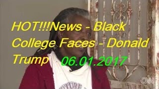 HOT!!!News   Black College Faces   Donald Trump