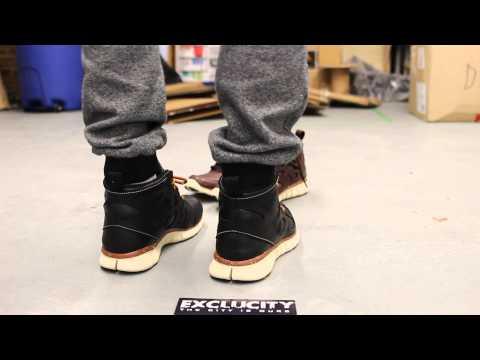 Nike Free Run 2 Sneakerboot QS - Black - On-feet Video at Exclucity
