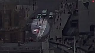 Момент наезда автомобиля на ограждение у британского парламента попал на видео