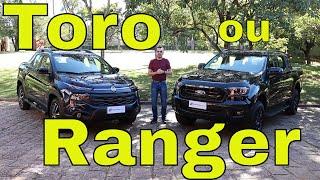 Comparativo: Toro Ultra x Ranger Black