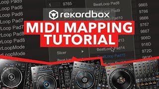 Rekordbox Midi Mapping Tutorial – Custom Setup for Pioneer DDJ Controllers
