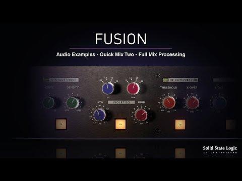 SSL Fusion - Quick Mix 2 - Full Mix Processing