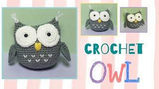 Tutorial Crochet Owl | Amigurumi
