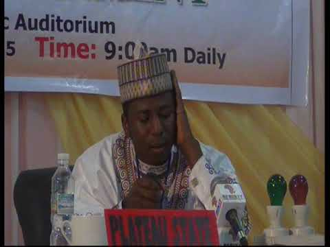 2015 Nigerian Musabaqa: Plateau Tangeem. Male Participant
