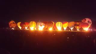 Zuru Night Glow 2018(Full), Balloons over Waikato, NZ