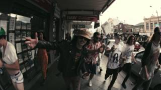 STICKY FINGERS   AUSTRALIA STREET (Official Video)