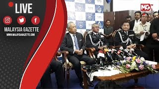MGTV LIVE   Sidang Media Selesai Majlis Serah Terima Tugas Ketua Polis Negara