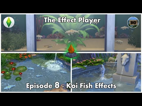 Bakies custom content tutorials and effect player videos for Sims 4 fishing