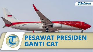 Polemik Pesawat Kepresidenan RI, Era SBY Dicat Biru-Putih, Jaman Jokowi Dicat Merah Putih