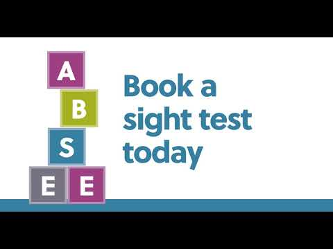 A B See campaign. Video for social media promoting children's eye health