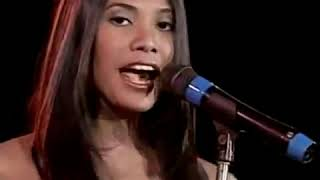 Anggun   A Rose In The Wind Live At Eat Bulaga Philippines 1998