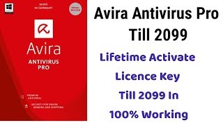 avira antivirus pro 2018 key till 2099 - crack download